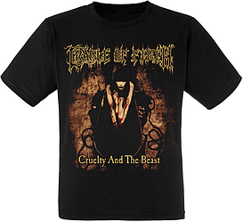 """Футболка Cradle of Filth """"Cruelty Brought Thee Orchids"""""""