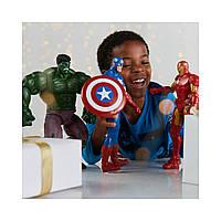 Большой набор супер героев Марвел: Халк, Капитан Америка, Железный человек от DISNEY, фото 1