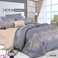 Комплект постельного белья ранфорс 17127