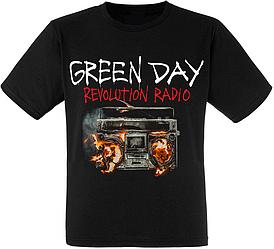 "Футболка Green Day ""Revolution Radio"""