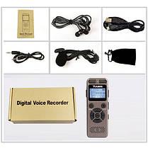 Диктофон с датчиком звука и батареей на 72 ч. работы, фото 3
