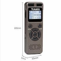Диктофон с датчиком звука и батареей на 72 ч. работы, фото 2