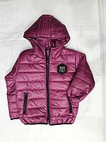 Куртка подростковая на девочку 116-140см