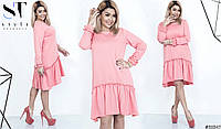 Красивое элегантное платье миди в стиле шифт Разные цвета
