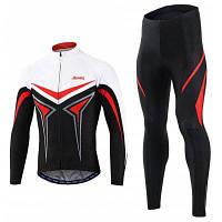 Arsuxeo унисекс костюм для велоспорта L