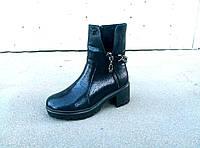 Ботинки кожаные женские осень-весна 36-41 размеры