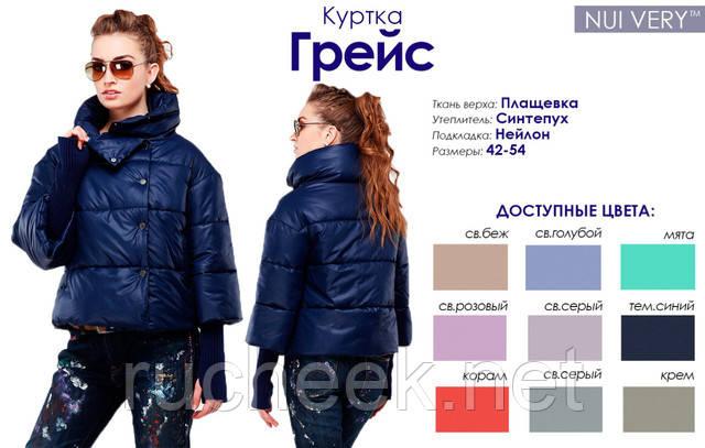 Куртки женские с довязом