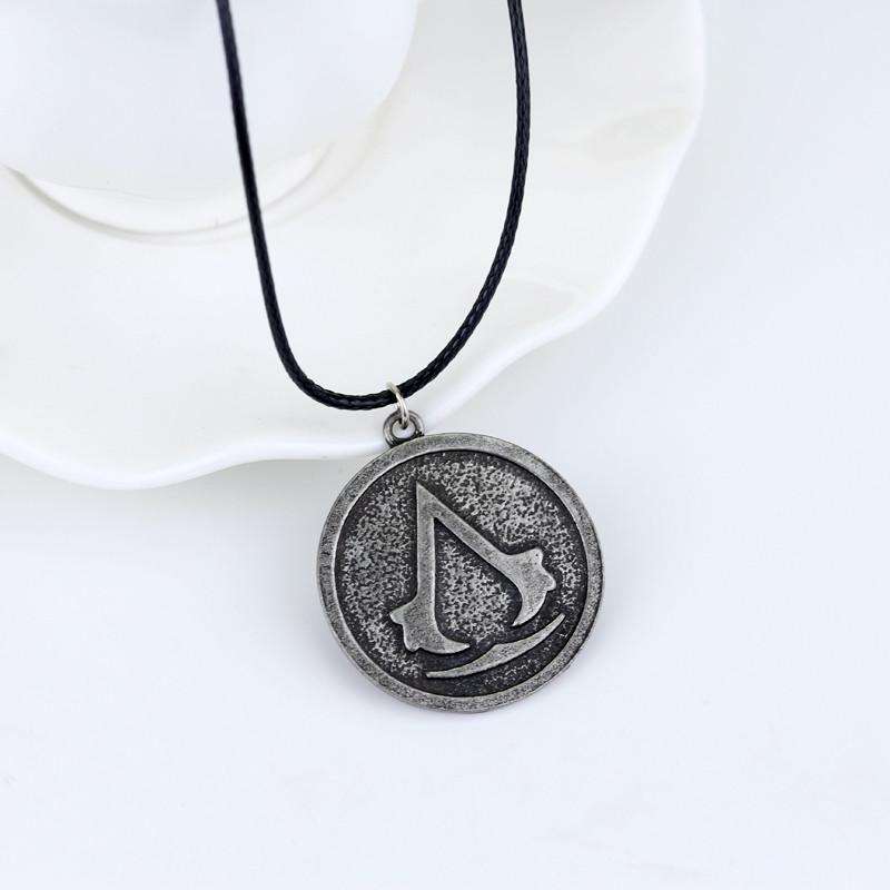 Медальон Assassins Creed! Оригинальная подвеска Ассасина!