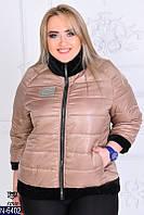 Женская куртка плащевка синтепон 150 р.50,52,54,56