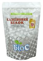 Казеиновый протеин БиоС 80 со вкусом клубники, пакет1кг