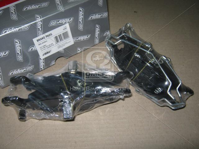 Колодки передние тормозные Опель Астра Opel Astra G RIDER