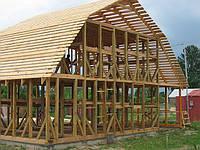 Каркас деревянного дома 6х8
