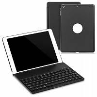 Bluetooth 3.0 Клавиатура чехол с подсветкой для нового iPad 9,7-дюймовый 2017 Чёрный
