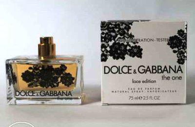 Тестер без крышечки духи женские D&G L'Eau The One Lace Edition (Дольче энд Габана Ван Лейс Эдишн)
