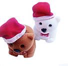 Футляр для кольца  Мишка Новогодний белый, фото 3