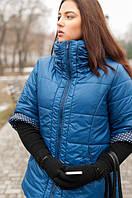 Стильная весенняя куртка из плащевки больших размеров рр 54-56,78-80