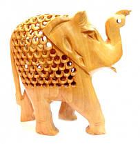 Слон дерев'яний