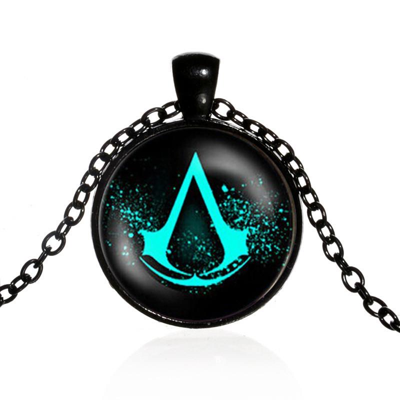 Медальон Assassins Creed с эмблемой! Оригинальная подвеска Ассасина!