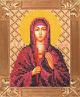 Набор для вышивания бисером Святая Мученица Валентина (артикул B-704)