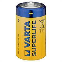 Батарейки Varta Superlife Zinc Carbon D R20 1.5V 24шт Shrink