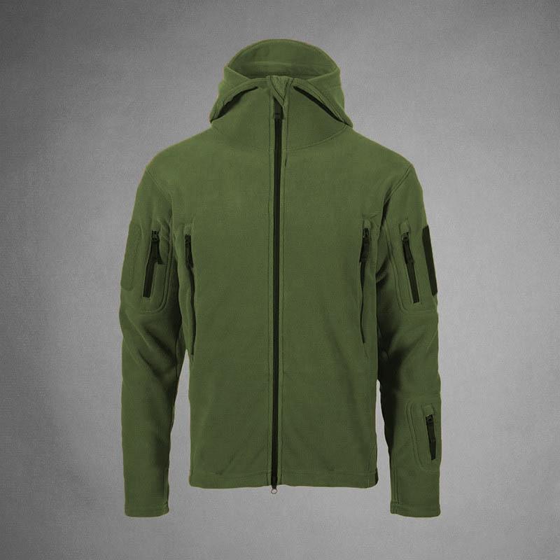 Мужская тактическая куртка олива