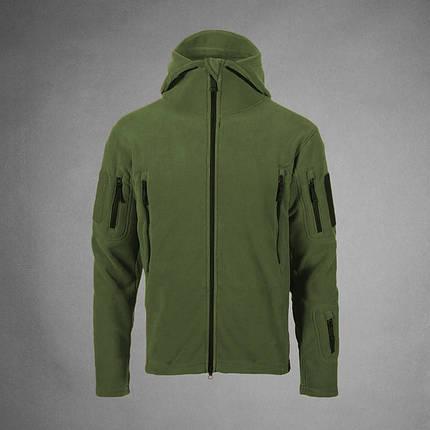 Мужская тактическая куртка олива, фото 2