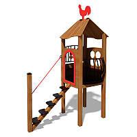 Детский игровой комплекс Домик InterAtletika