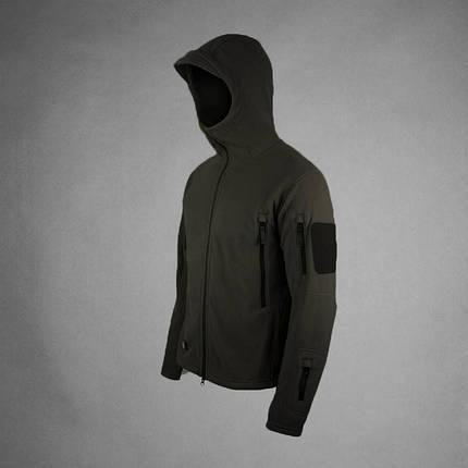 Мужская тактическая куртка черного цвета, фото 2