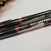 Карандаш маркер для ногтей розовый 7