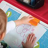 """2 в 1: комод для игрушек и поверхность для творчества """"BOX & ART"""" красный, фото 2"""