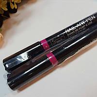 Карандаш маркер для ногтей малиновый 6