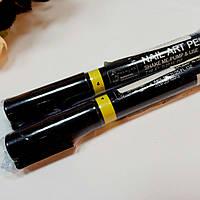 Карандаш маркер для ногтей жёлтый 4