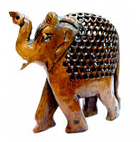 Фигурка из дерева Слон