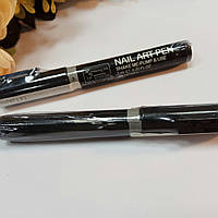 Карандаш маркер для ногтей серебристый 3