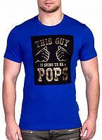 Мужская футболка с принтом Валимарк,модная, с 3Д эффектом. С,M,L,XL наличие размера уточняйте