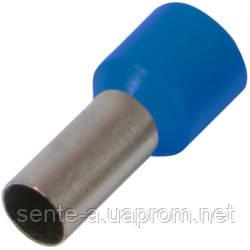 Изолированный наконечник втулочный e.terminal.stand.e2508.blue 2,5 кв.мм, синий