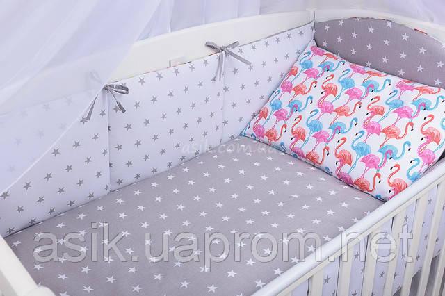 Борики в детскую кроватку