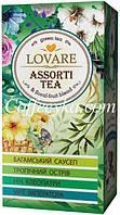 Чай зеленый Lovare Ассорти 4 вида по 6 шт пакетированный 24х2 г