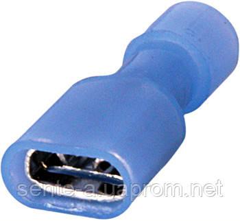 Наконечник соединитель изолированный серии FN e.terminal.stand.fdfn2.250.blue (fn.f.1,5.2,5) 1,5-2,5 кв.мм