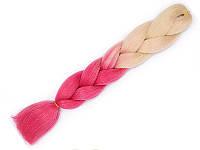 Канекалон для плетения косичек пряди накладные цветные