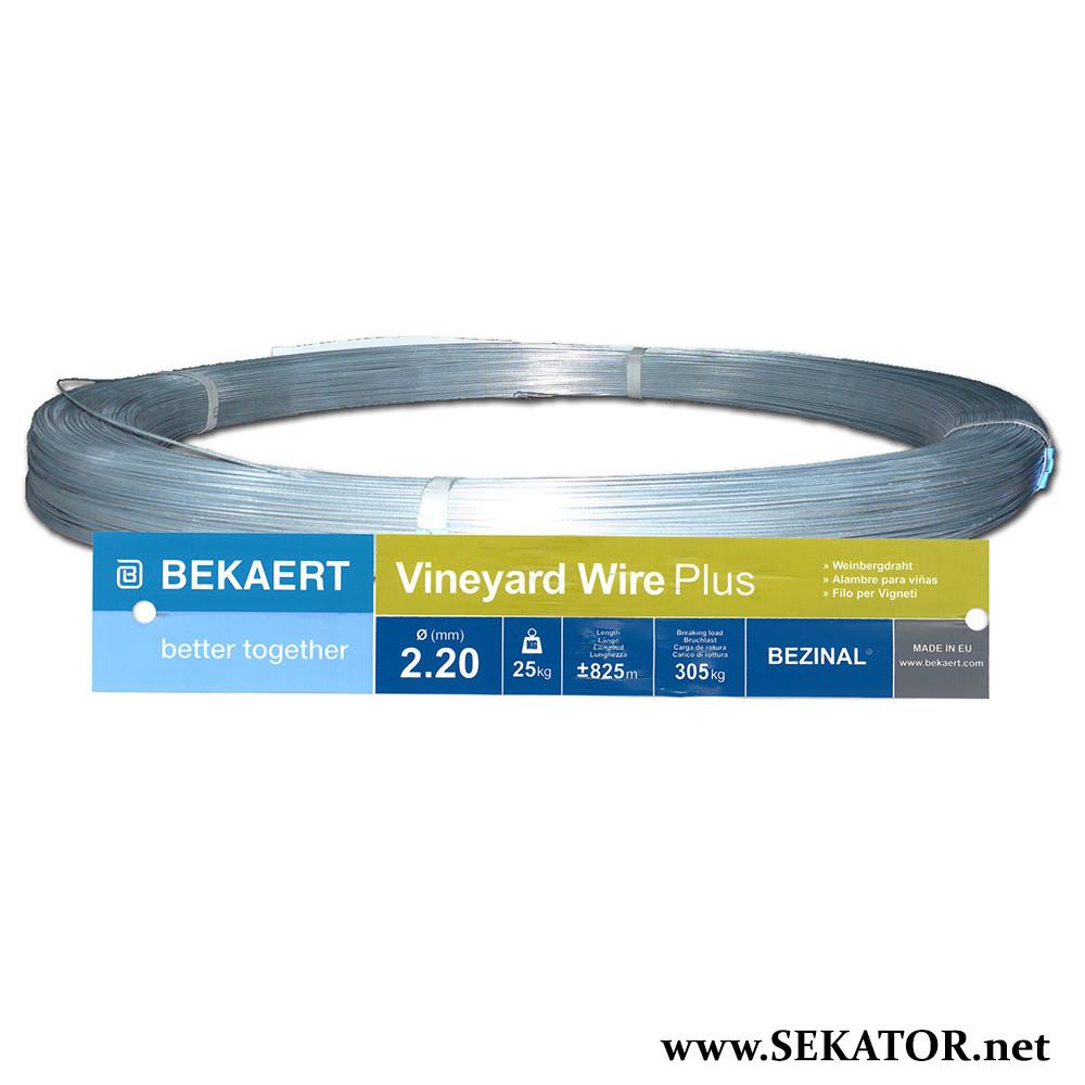 Металевий шпалерний дріт Bekaert Vineyard Wire Pro (Бельгія)