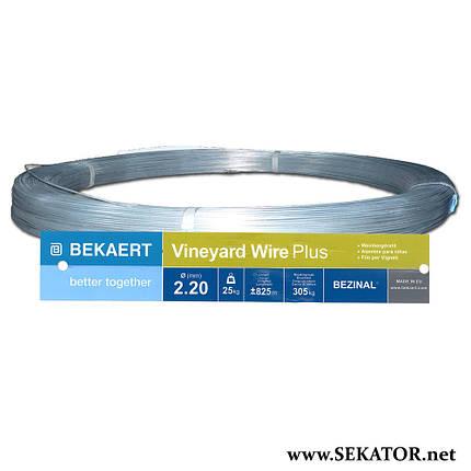 Металевий шпалерний дріт Bekaert Vineyard Wire Pro (Бельгія), фото 2