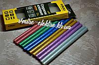 Клеевые стержни цветные 11,2 мм 200 мм Sigma 12 шт
