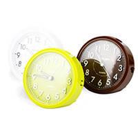 Часы настольные Deli 9033 микс D105х55 круглый корпус