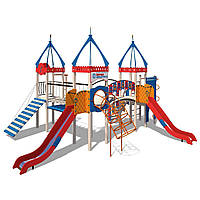 Детский игровой комплекс Замок-М InterAtletika