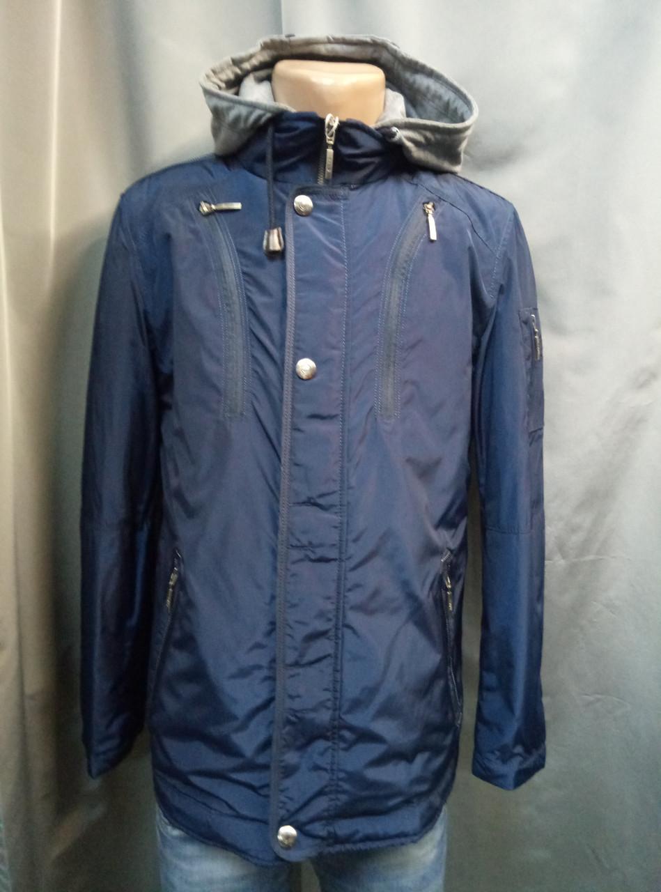 b7310a52735 Мужская тонкая куртка с серым капюшоном - For men в Житомире