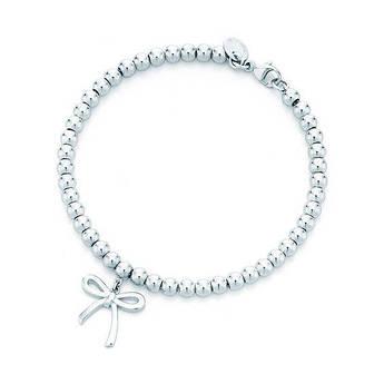 Серебряный браслет бант в стиле Tiffany