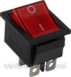 Переключатель клавишный e.switch.key.04, 4 pin, без индикации