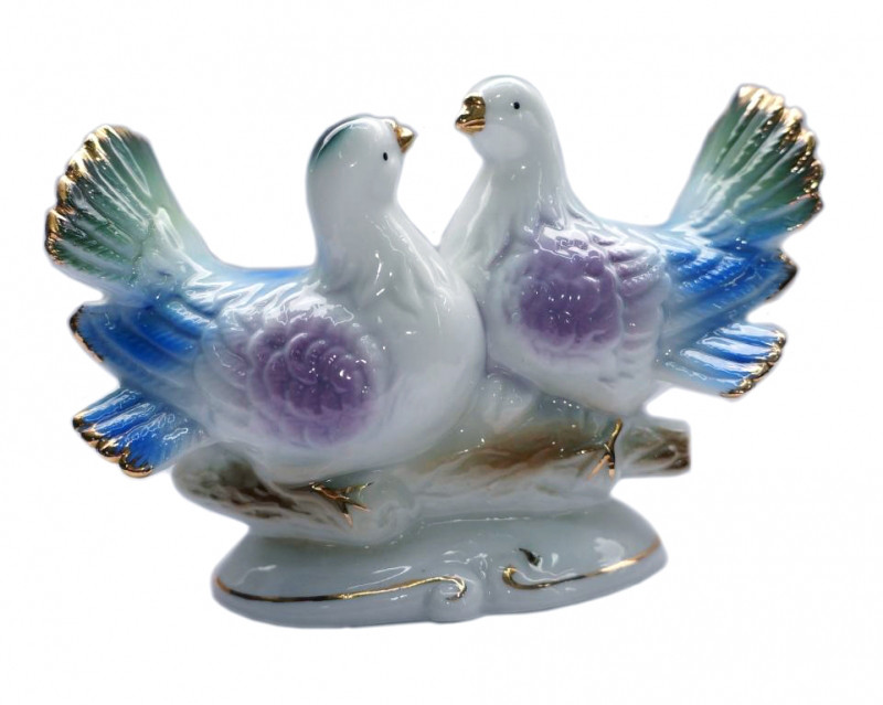 Статуетка Голуби пара на гілочці