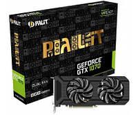 Palit GeForce GTX 1070 Dual Fan 8GB GDDR5 NE51070015P2D, фото 1